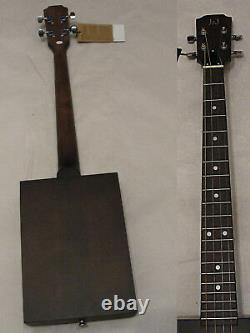 James Neligan CASK Puncheon 4 string Acoustic Resonator Cigar Box Guitar