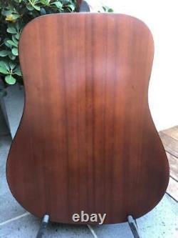 K Yairi W-1 6 String Acoustic Guitar Hand Made in Japan MIJ 1984