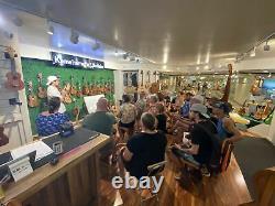 Kamehameha Ukulele K8T Tenor Solid Top Acacia Koa Natural WithBAG & TUNER & STRAP