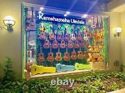 Kamehameha Ukulele KT-12 Tenor Mahogany WithBAG & TUNER & STRAP Hawaii Great tone