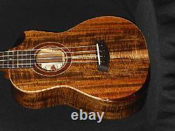 Kanilea 2016 Platinum Rare Premium Curly Koa 4 String Tenor Ukulele