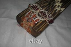 Koto portable Japanese stringed musical instrument acoustic harp 13strings zen