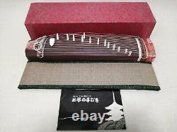Koto portable Japanese stringed musical instrument acoustic harp 13strings zen 1