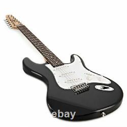 LA Deluxe 12 String Electric Guitar by Gear4music