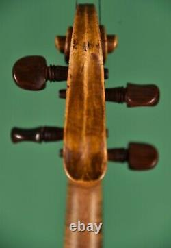 Labeled Alexander Gagliano, Old Antique Violin, Nice and Big Sound
