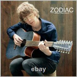 Lindo B-STOCK Zodiac 12-String Electro-Acoustic Guitar Preamp Chromatic Tuner EQ