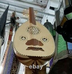 Lute Oud Music Instrument Play Musical Handmade Wood big 11 strings