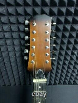 MARIA 12-STRING Semi-Hollow archtop Electric Guitar RARE Soviet Vintage USSR