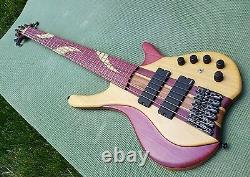 MGbass Desert 6 strings pickup preamp emg parts gotoh exotic (Down Payment)