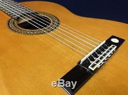 Miguel Almeria 20-CR Solid Cedar Top, Nylon String Classical Guitar+Free Gig Bag