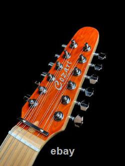 NEW 12 STRING TL STYLE ELECTRIC GUITAR EXOTIC BIRDSEYE MAPLE TOP With GIG BAG