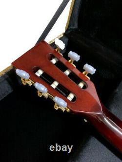 New 6 String Little Sister Style Cutout Semi Hollow Electric Guitar + Case