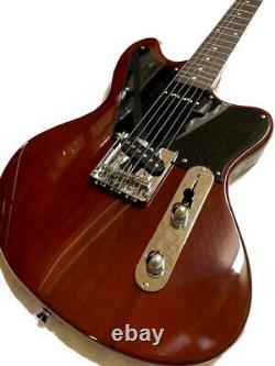New 6 String Natural Tele Style Offset Jaguar Body Electric Guitar P-90