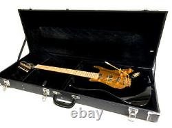 New 6 String Strat Style Flame Maple Board Burnside Signature Electric Guitar