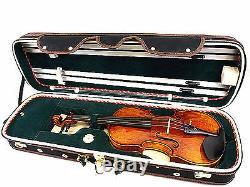 New Designed 4/4 Pro. Enhaced Wooden Violin Case + free violin string
