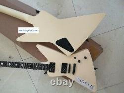 New James Hetfield white EET F-U-K Electric Guitar 6 Strings Chinese Replica