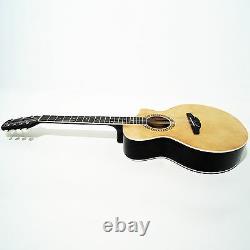 New Russian / Ukrainian Seven 7 String Guitar, Acoustic, utaway, Sand, 991