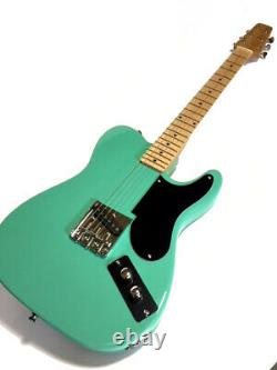 New Vintage Style Snakehead Tele Style 6 String Electric Guitar Seafoam Green