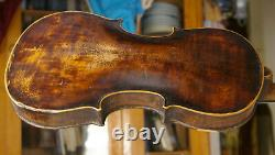 Nice Antique ver 100 Years Old Violin Ready to play, sound sample