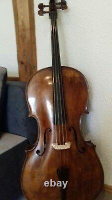 Nr 466 cello 4/4 super klang VOLLMASSIV