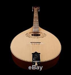 Octave mandolin, short scale Irish bouzouki, made in Romania by Hora, solid wood