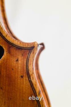 Old Italian Violin GAETANO POLLASTRI, Bologna 1941, CERTIFICATE CARLSON