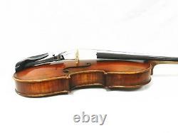 Old Spruce & Antique Violin 4/4, Dominant Strings+ France Bridge, One Piece Back