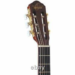 Oscar Schmidt OC11CE Nylon String Classical Acoustic Electric Guitar, Natural