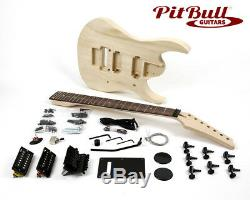 Pit Bull Guitars IB-7 7 String Electric Guitar Kit