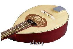 Portuguese Mandolin II, Solid Wood, Made by Hora, Romania