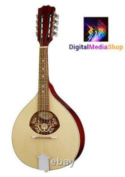Portuguese Mandolin I, Solid Wood, Made by Hora, Romania