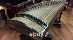 Professional 51 Travel-size Paulownia Guzheng, Chinese Zither Instrument, Koto
