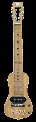 SX 6 String Lap Steel Guitar American Swamp Ash Lapsteel Guitar W Gig Bag/Stand
