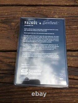 Seymour Duncan Nazgul / Sentient 6 String Humbucker Pickup Set Black 11108-96-B
