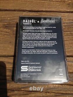 Seymour Duncan Nazgul / Sentient 7 String Pickup Set Black 11108-96-B7