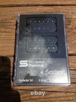 Seymour Duncan Pegasus / Sentient 6 String Humbucker Pickup Set Black 11108-95-B