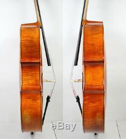 Special Offer! Modern Stradivari Cello 4/4 Copy Fine Tone, Strong deep M6288