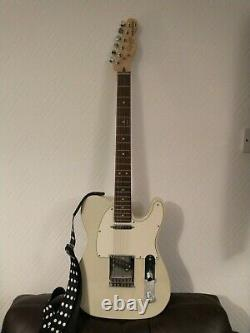 Squier Telecaster 2014 Olympic White Electric Guitar Right Handed 6 String