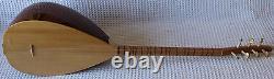 TURKISH SHORT NECK BAGLAMA SAZ CSS-105 Baglama String Musical Instrument