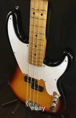 Tagima TW-66 4-String P-Bass Electric Bass Guitar Vintage Sunburst