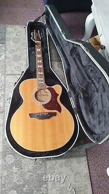 Takamine EG523SC-12 12 String Electro Acoustic Guitar and hard case