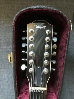 Taylor 856CE 12strings electro acoustic guitar