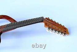 Turkish Electric Silent Oud Ud String Musical Instrument Aos-101g