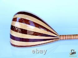 Turkish Long Neck Baglama Saz String Musical Instrument For Sale Csl-113