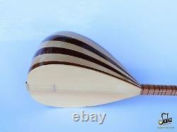 Turkish Long Neck Mahogany Baglama Saz For Sale Csl-113