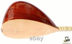Turkish Long Neck Mahogany Baglama Saz String Musical Instrument For Sale