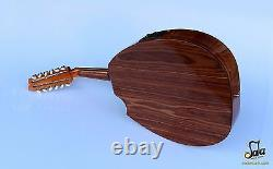 Turkish Professional Flat Electric Oud Ud String Instrument Aoh-302g