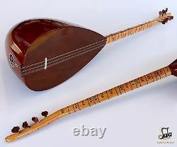 Turkish Quality Short Neck Baglama Saz String Musical Instrument Ask-111n