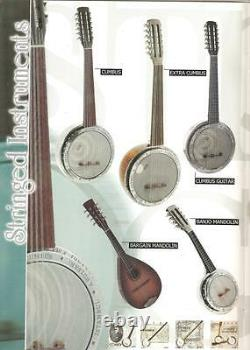 Turkish String Instrument Professional Cumbus Cumbush By Zeynel Abidin