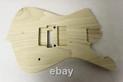 Unfinished UV Universe Jem Guitar Body Iceman 7String HXX EMG- Fits RG Necks